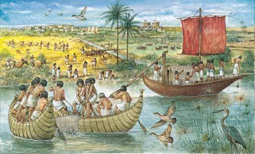 دراسة: مصر القديمة دشنت أول أسطول تجاري في التاريخ