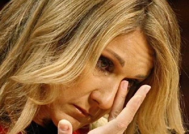 سيلين ديون تودع زوجها