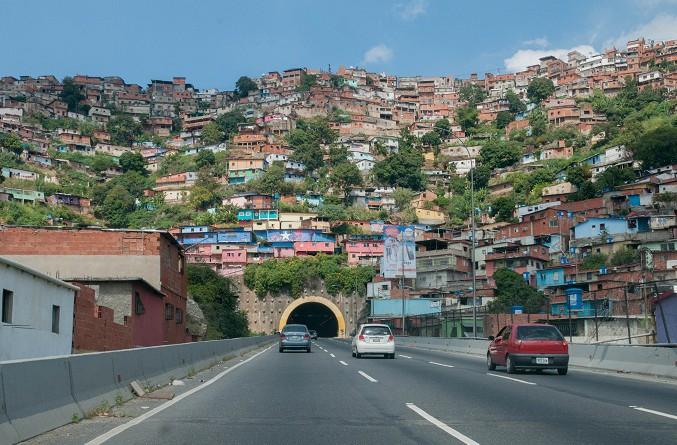 مدينة كراكاس العاصمة الفنزويلية