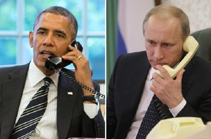 بوتين يبحث هاتفيًا مع أوباما
