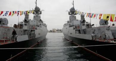 """روسيا ترسل سفينة تحمل صواريخ """"كاليبر"""" إلى سوريا"""
