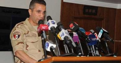 المتحدث باسم القوات المسلحة العميد محمد سمير