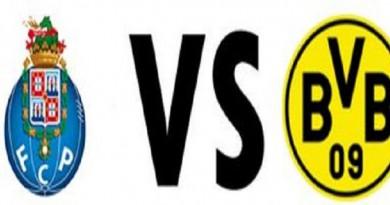 بث مباشر.. مباراة بوروسيا دورتموند وبورتو