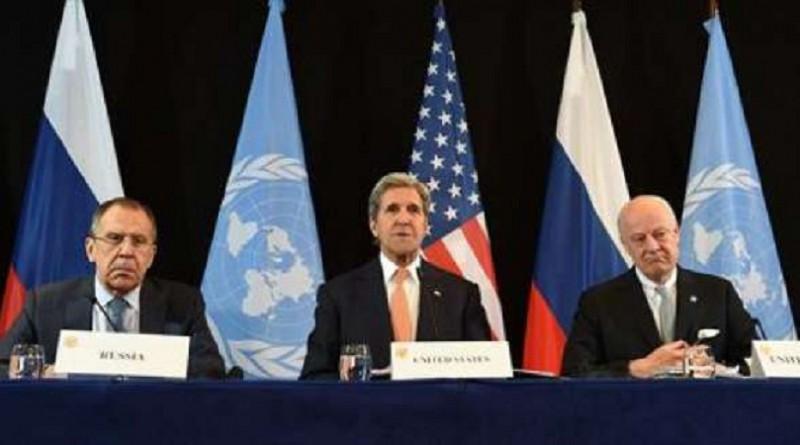 أمريكا وروسيا يوافقان على خطة وقف العمليات العسكرية في سوريا