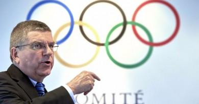 رئيس اللجنة الأوليمبية الدولية توماس باخ