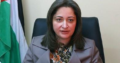 وزيرة السياحة والآثار الفلسطينية رولا معايعة