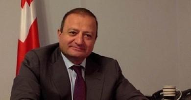 أرشيل دزولياشفيلي سفير جورجيا بالقاهرة