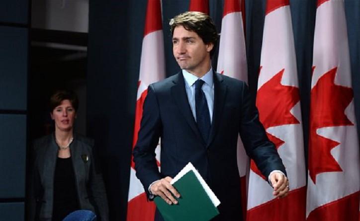 رئيس الوزراء الكندى