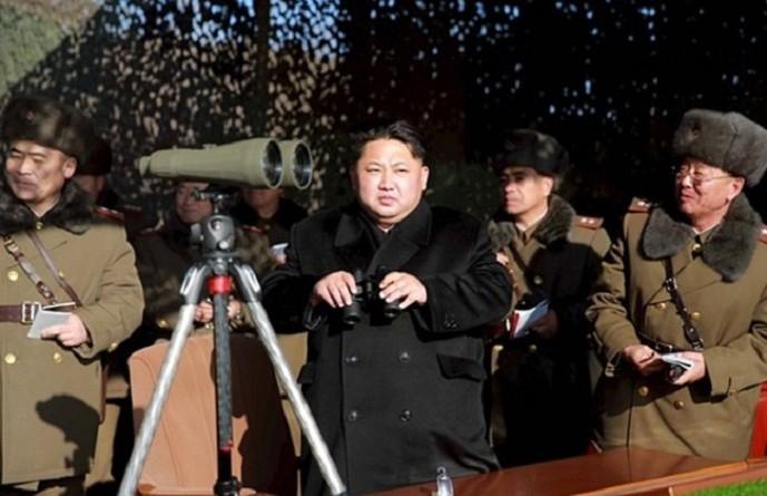الزعيم كيم جونغ-أون