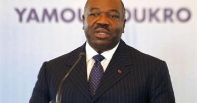 الرئيس الجابوني علي بونجو