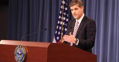 بيتر كوك المتحدث باسم وزارة الدفاع الأمريكية (البنتاجون)
