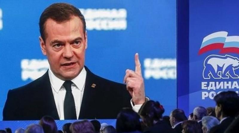 رئيس وزراء روسيا ديمتري ميدفيديف