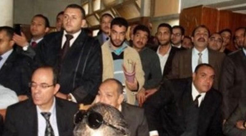 اعتصام محامين