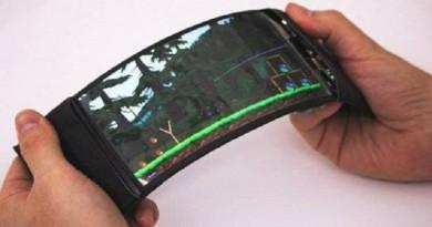 أول هاتف ذكي قابل للانحناء (فيديو)