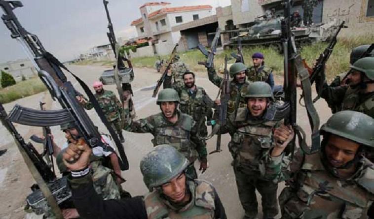 جماعة سورية: مقتل 3 مسلحين في هجوم بري للقوات الحكوميةجماعة سورية: مقتل 3 مسلحين في هجوم بري للقوات الحكومية