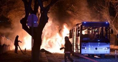 تفجير يستهدف قافلة عسكرية بجنوب شرق تركيا