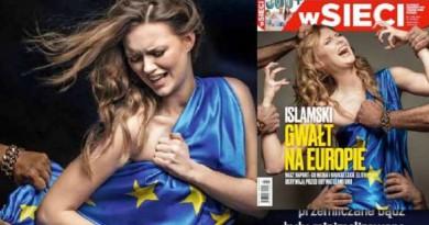 غلاف مجلة بولندية