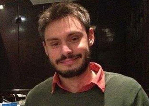 الطالب الإيطالي القتيل جوليو ريجيني