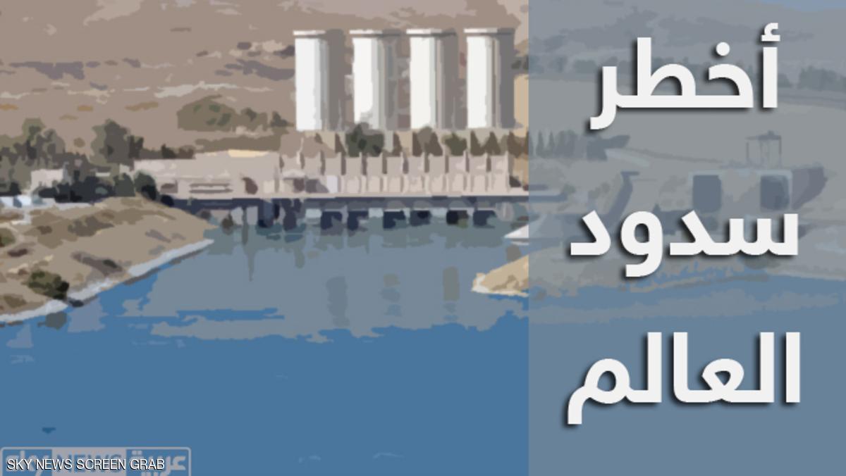 IRAQ-UNREST-DAM-MOSUL-FILE