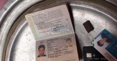 العثور على متعلقات الطالب الإيطالي
