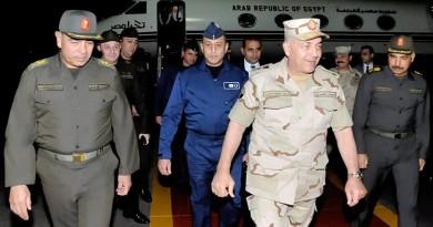 وفد عسكري رفيع المستوى بقيادة رئيس الأركان يتوجه إلى الرياض