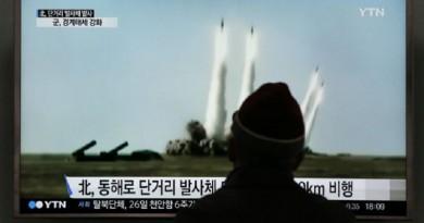 كوريا الشمالية تطلق صاروخا جديدا قصير المدى