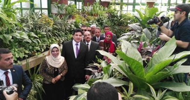 """""""زهور الربيع"""" يجذب المصريين لمنتجات الزينة رغم صعوبة الوضع الاقتصادي"""