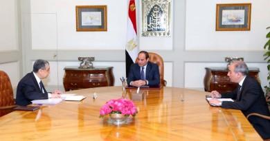 الرئيس يجتمع بوزير الكهرباء لبحث الاستعدادات لموسم الصيف