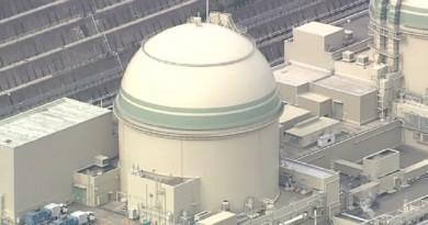 وقف العمل في محطة تاكاهاما النووية في اليابان