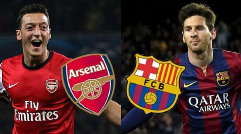 بث مباشر.. مباراة برشلونة وآرسنال