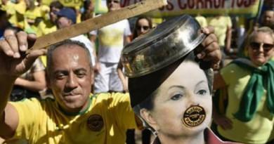 مظاهرات تاريخية بالبرازيل للمطالبة برحيل الرئيسة