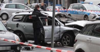 مقتل شخص بانفجار وسط برلين