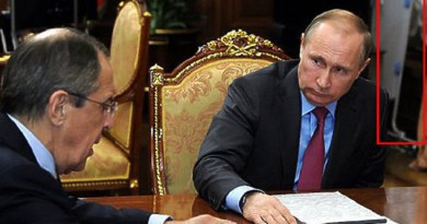"""الكرملين يكشف عن سر """"طاولة الكوي"""" في مكتب بوتين"""