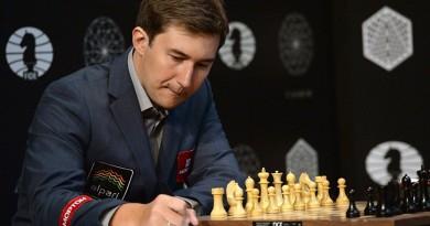 كارياكين يتصدر دورة المرشحين لبطولة العالم للشطرنج