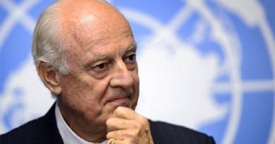 المبعوث الدولي الى سوريا ستافان دي ميستورا