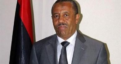رئيس الوزراء الليبي عبدالله الثني
