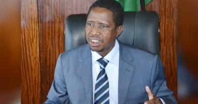 الرئيس الزامبي أدجار لونجو