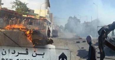 قوات تونسية تبدأ عملية أمنية واسعة في بنقردان