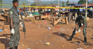 هجوم انتحاري على مسجد شرق نيجيريا