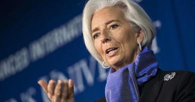 المديرة العامة لصندوق النقد الدولي كريستين لاجارد