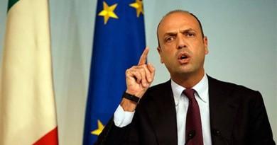 وزير الداخلية الإيطالية أنجيلينو ألفانو