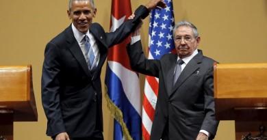 اوباما وكاسترو