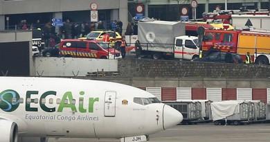 بروكسل : المطارسيظل مغلقا إلى يوم الإثنين القادم