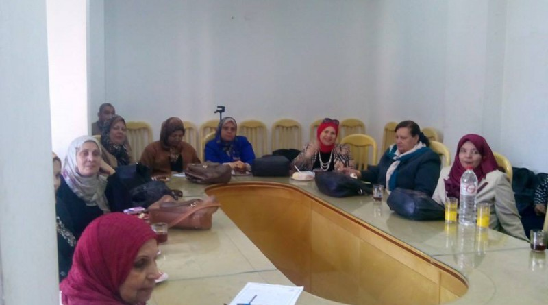 اجتماع مجلس المراة بالشرقية