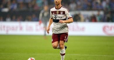 تشابي ألونسو نجم فريق بايرن ميونيخ الألماني