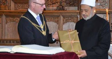 الطيب: السلام بين الشعوب يبدأ بحوار الأديان