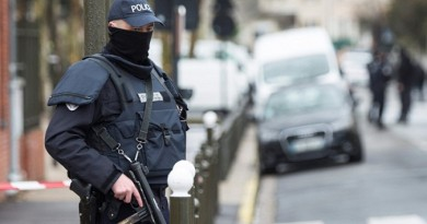 """""""رويترز"""": سماع دوي انفجار أثناء حملة للشرطة البلجيكية"""