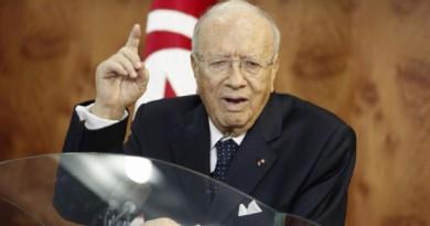 الرئيس التونسي الباجي قائد السبسي،