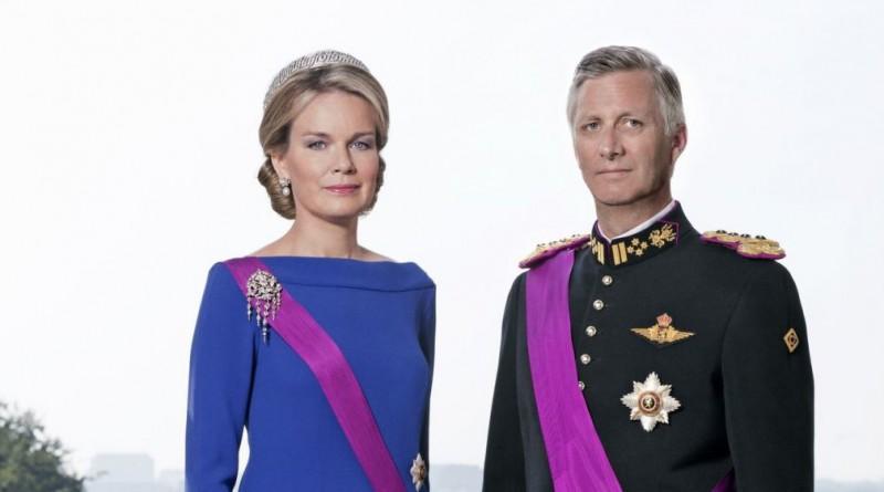 ملك وملكة بلجيكا
