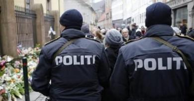 عناصر من الشرطة الدنمركية